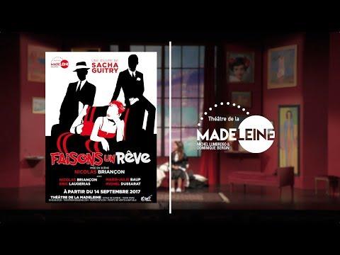 Au Théâtre de la Madeleine à Paris - A partir du 14 Septembre 2017  Mise en scène de Nicolas...