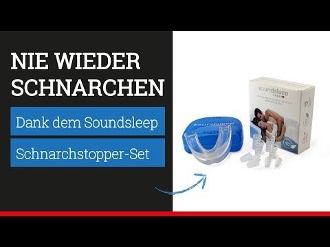 Was hilft gegen Schnarchen? Schnarchstopper von Soundsleep: Schnarchschiene & Nasenspreizer