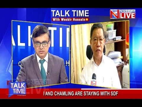 #TALKTIME with Wasbir Hussain | Guest: PD Rai (SDF Leader & Former MP)