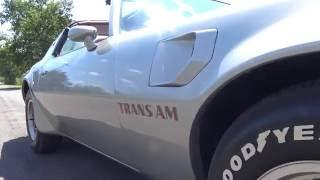 1978 Pontiac Firebird Trans Am 4-Speed 6.6 Litre T/A 400 Muscle Car Road Test