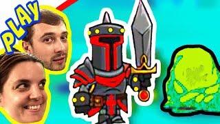 БолтушкА и ПРоХоДиМеЦ качают ОТРЯДЫ для защиты башни! #302 Игра для Детей - Tower Conquest