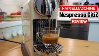 Nespresso CitiZ im Test (DeLonghi EN 166.CW) [deutsch]