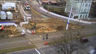 preview picture of video 'Baustellen Zeitraffer Aufnahme vom 12.-18. März 2014'