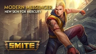 SMITE - New Skin for Mercury - Modern Messenger