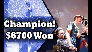 WINNING $6700! Gamergy Masters 2017 Champion Coltonw83! | Clash Royale