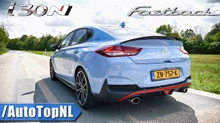 Hyundai i30N Fastback Exhaust SOUND Revs & ONBOARD by AutoTopNL