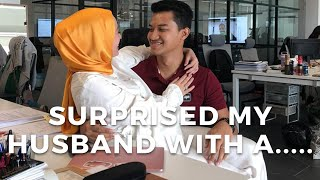 Surprised my husband with a..... | Vivy Yusof