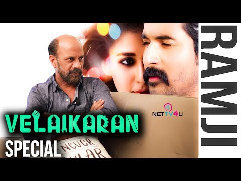 Me & Mohan Raja Often Have Arguments | Velaikkaran Special Interview With Cinematographer Ramji
