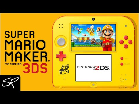 NEW Nintendo 2DS Super Mario Maker Edition Review & GIVEAWAY! | Raymond Strazdas