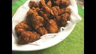 Куриный поп-корн  Сочные куриные кусочки в панировке