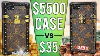 $35 iPhone Case vs $5500 Case DROP Test!
