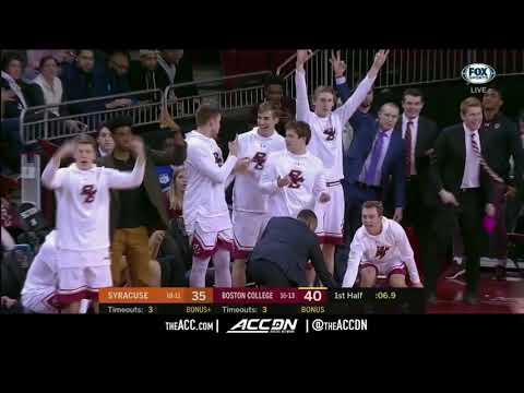 Syracuse vs Boston College College Basketball Condensed Game 2018