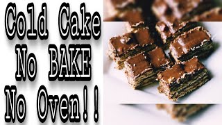Cold Cake Recipe | No Baking No Oven | Special Dessert Recipe By Yummy Dishes.