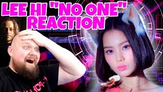 LEE HI - NO ONE (Feat. B.I of iKON) MV Reaction (A GIRL MUST BECOME NO ONE)