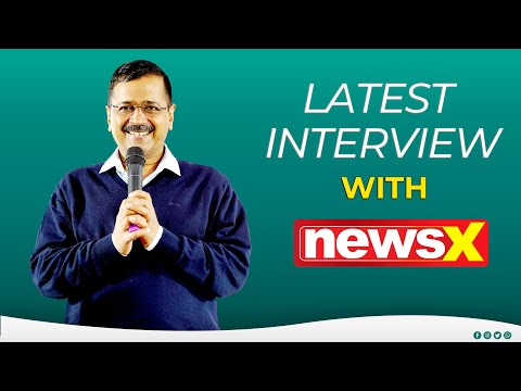 Hon'ble CM Shri Arvind Kejriwal's Exclusive Interview on NewsX