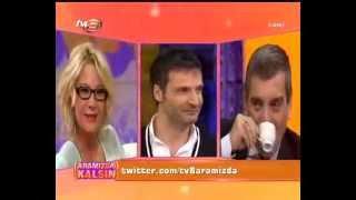 sinan özen sacit aslan pelin çini aramızda kalsın programı tv8 18.01.2013