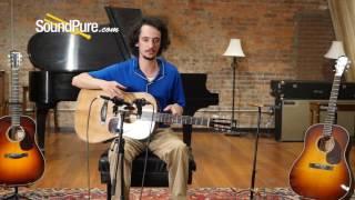 "Santa Cruz D12 ""Torrified"" Bearclaw Sitka Acoustic Guitar"