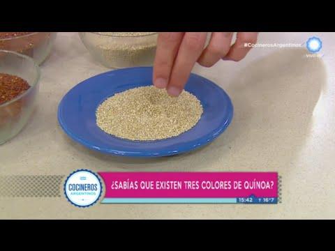 Gastronoma boliviana quinua uchu y mousse de coca con quinua negra  Recetas  Cocineros Argentinos