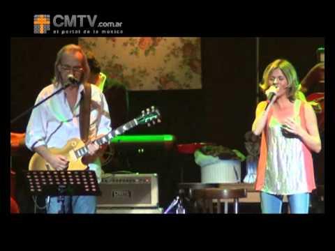 Marcela Morelo video Tu amor es de Dios con David Lebón - Gran Rex 16-11-2012