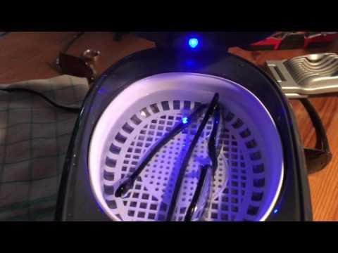 Brille reinigen mit Ultraschallreinigungsgerät Ultraschall Sehhilfe Reinigung Anleitung