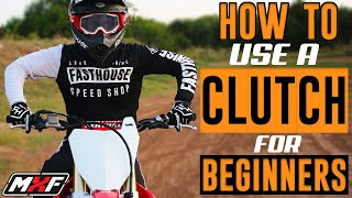 How to Properly Use a Dirt Bike Clutch - Avoid Whiskey Throttle!!