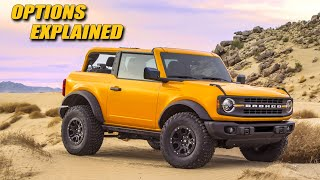 How To Option Your 2021 Ford Bronco!