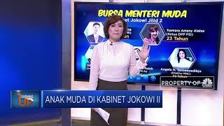Anak Muda di Kabinet Jokowi II
