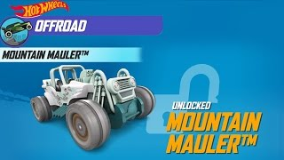 Hot Wheels: Race Off - Unlock MOUNTAIN  MAULER Car - iOS/Android - Gameplay Video
