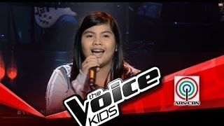 """The Voice Kids Philippines Blind Audition """"Ako na Lang"""" by Gab"""