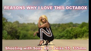 REASONS WHY I LOVE Westcott XXL Rapid Box /SONY A9 + Sony 55mm, 85mm, 1.8, Zeiss 135mm F/2.8 BATIS