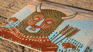 Cheveyo - making a cd cover for album Spirit Warrior