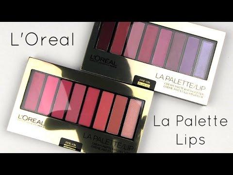 Color Riche La Palette Lip - Plum by L'Oreal #10
