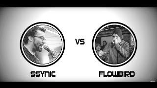 Dreistil RAPBATTLE - SSYNIC vs FLOWBIRD - Acapella 06.04.17