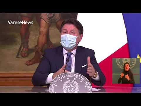 """Le nuove regole per Natale annunciate da Conte: """"Tutta Italia zona rossa e arancione"""""""