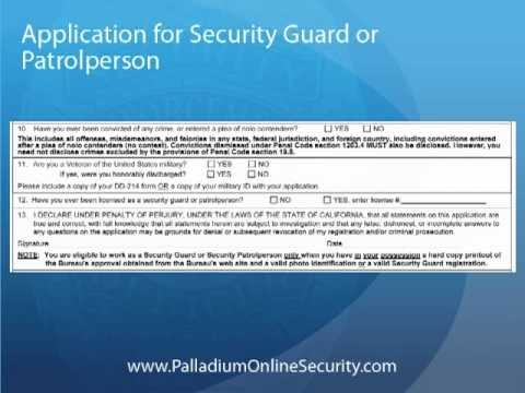 Form dos 1246 security guard renewal application - Fill Out