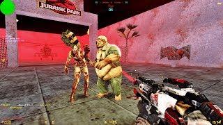 Counter-Strike: Zombie Escape Mod - ze_jurassicpark2_darkpro [RETEXTURED]