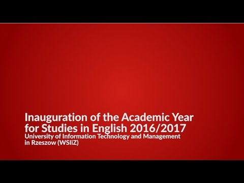 Academic Year 2016/2017