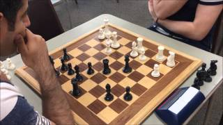 Blitz Wars - Michael is So Close to Being Master - Can He Beat GM Ehsan to Get The Rating Points?