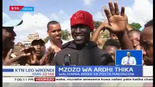 Maafisa wa polisi wafurusha wahudumu wa matatu Thika
