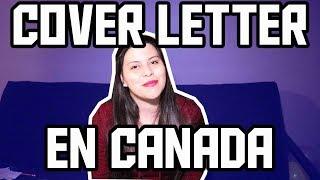 Como Hacer Un Cover Letter -  Una Colombiana En Canada