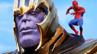 THANOS vs SPIDERMAN - AVENGERS ENDGAME in Jump Force