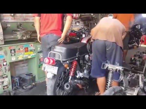 Video Tips Modifikasi Mesin Motor Honda CB 100 Jadi Lebih Garang