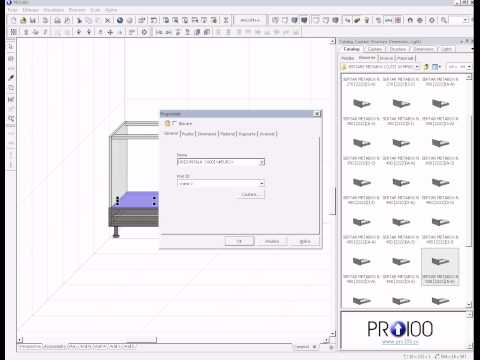 Realizare corp cuptor in PRO100