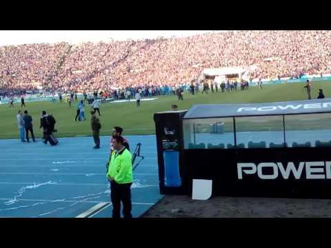 """""""Minutos Finales Universidad de Chile 1-0 San Luis"""" Barra: Los de Abajo • Club: Universidad de Chile - La U"""