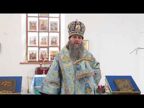 Проповедь митрополита Даниила в селе Рычково Кетовского района