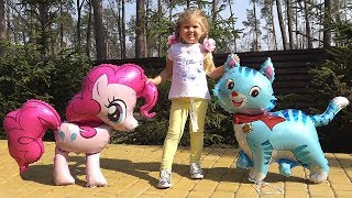 Неожиданное Приключение Дианы и ее Игрушек! Развлекательное видео для детей