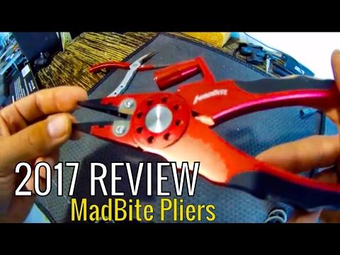 Fishing Gear 2017: *REVIEW* Kast King Madbite MadBright Fishing pliers!!