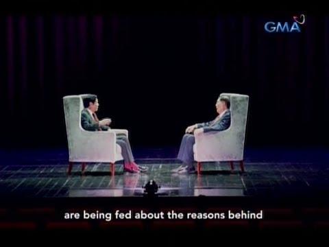 [GMA]  Bongbong Marcos at Juan Ponce Enrile, tinalakay ang mga mali umanong paniniwala sa Martial Law
