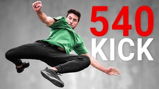 Learning how to 540 Kick