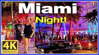 اغاني طرب MP3 4K VIDEO WALK Ocean Drive SOUTH BEACH Miami Beach 4K Florida USA تحميل MP3